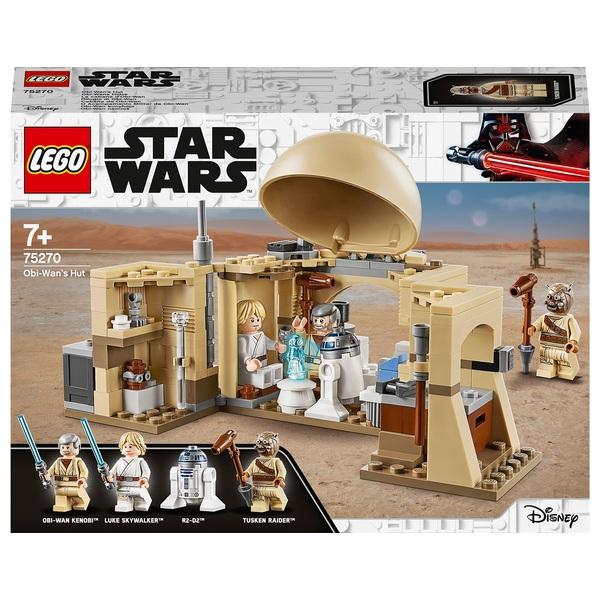 LEGO 75270 Star Wars Obi-Wan's Hut A New Hope Movie Playset