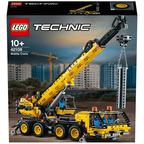 LEGO 42108 Technic Mobile Crane Truck Toy Construction Set