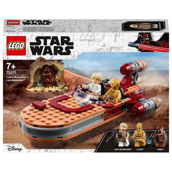 LEGO 75271 Star Wars Luke Skywalker's Landspeeder Set