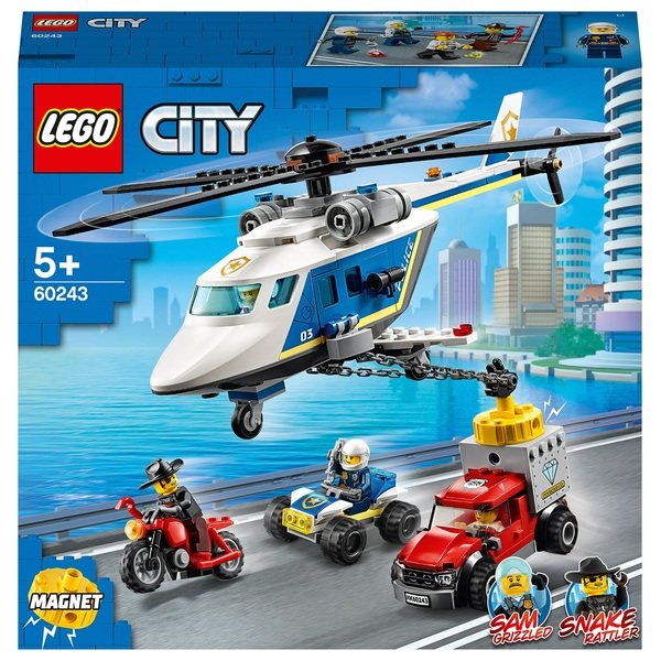 LEGO 60243 City Police Helicopter Chase Toy