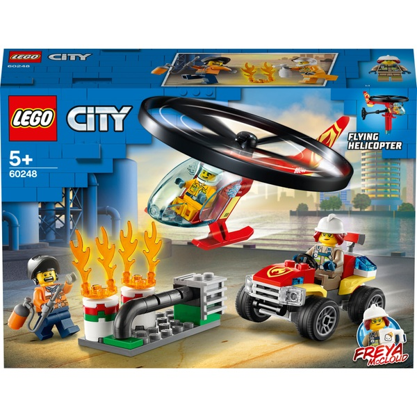 LEGO 60248 City Fire Helicopter Response