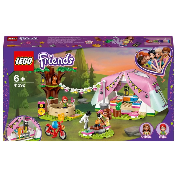 LEGO 41392 Friends Nature Glamping Treehouse Adventure Camp Set