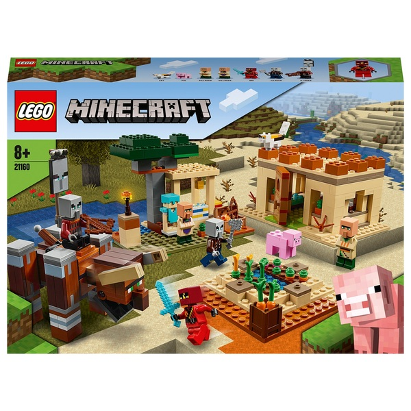 LEGO 21160 Minecraft The Illager Raid Building Set