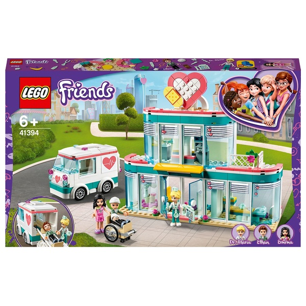 LEGO 41394 Friends Heartlake City Hospital Mini Dolls Playset