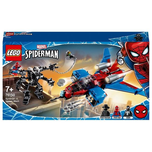 LEGO 76150 Marvel Spider-Man Jet vs. Venom Mech Playset