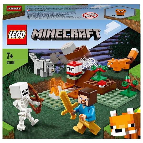 LEGO 21162 Minecraft The Taiga Adventure Playset with Skeleton