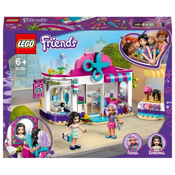 LEGO 41391 Friends Heartlake City Hair Salon Girls & Boys Set