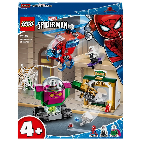 LEGO 76149 Super Heroes 4+ Spiderman The Menace of Mysterio