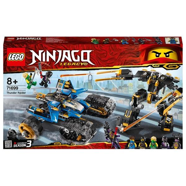 LEGO 71699 Ninjago Legacy Thunder Raider 2in1 Action Mech Toy