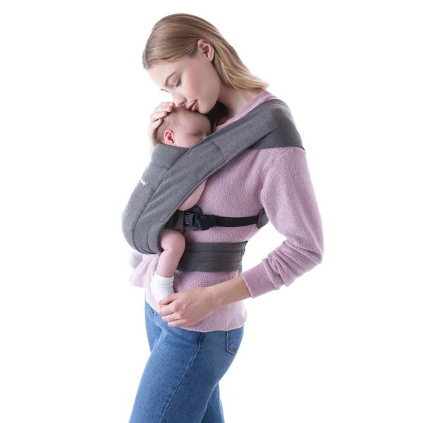 Ergobaby Babytrage Embrace Heather Grey