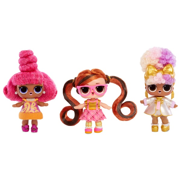 L.O.L. Surprise! Hairvibes Dolls with 15 Surprises and Mix & Match Hair Pieces Assortment