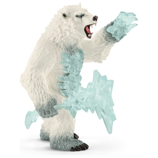 Schleich Eldrador Blizzard bear with weapon