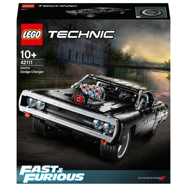 LEGO 42111 Technic Fast & Furious Dom's Dodge Charger Car Model