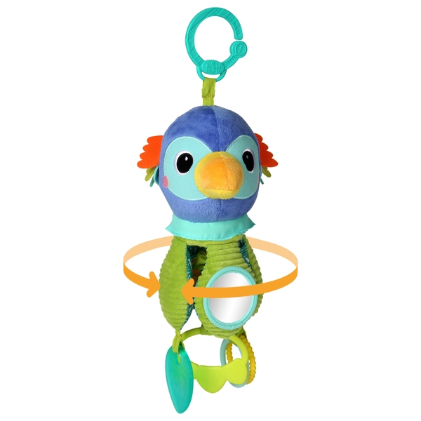 Bright Starts Twirly Whirly Toucan Spinning Toy