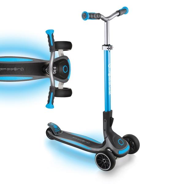 Globber ULTIMUM LIGHTS Sky Blue Scooter