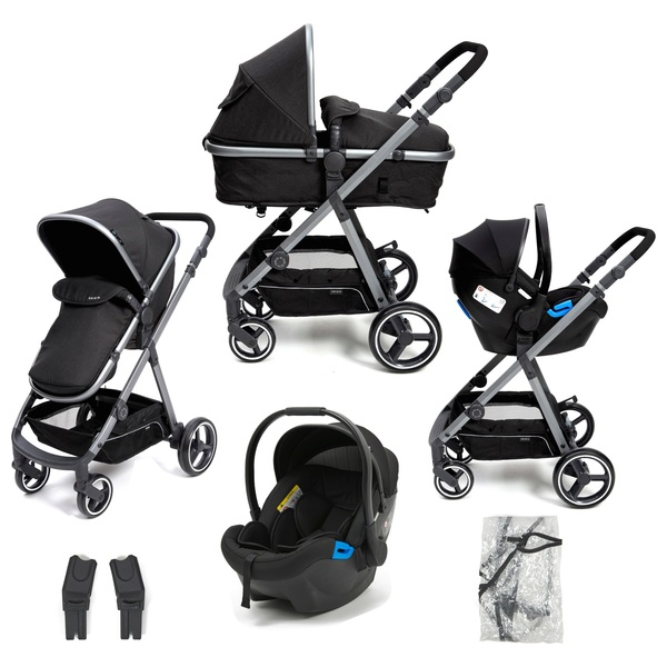 Origin by Babylo 2-in-1 Travel System & Car Seat Charcoal