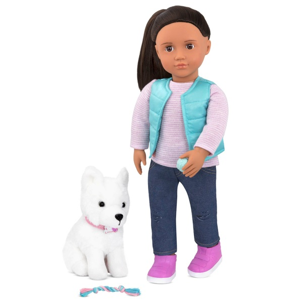 Our Generation Cassie Doll and Pet