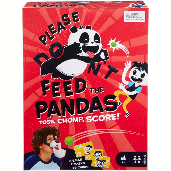Please Feed the Pandas Kids Game