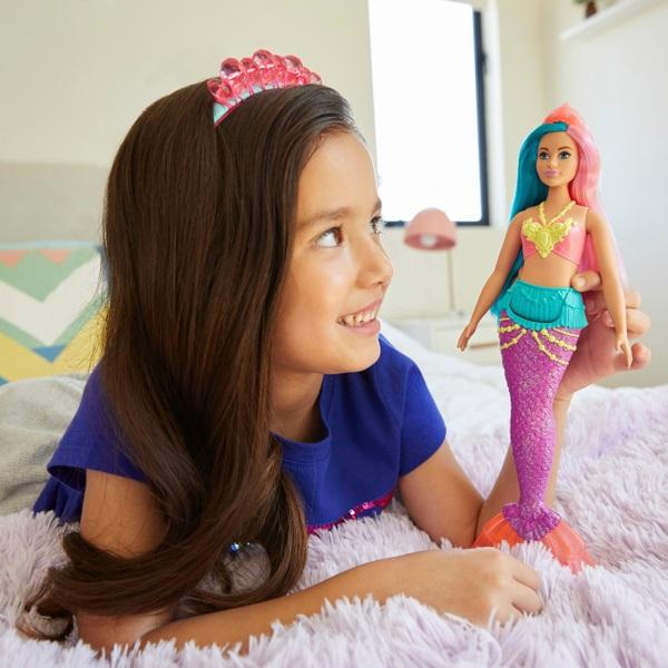 Barbie Dreamtopia Mermaid Doll (Pink and Teal)