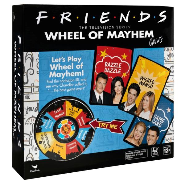 Friends TV Show Wheel of Mayhem Board Game