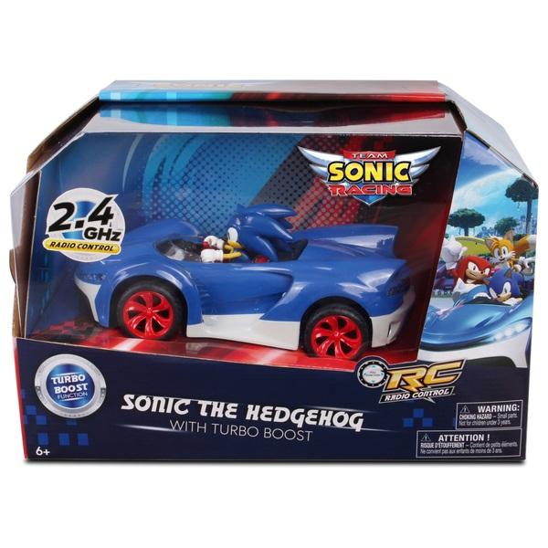 Sonic Radio Control Car Smyths Toys