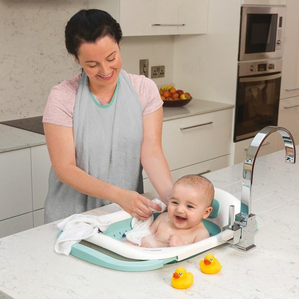 The ClevaBath The Baby Sink Bath