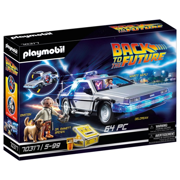 Playmobil 70317 Back to the Future DeLorean Car