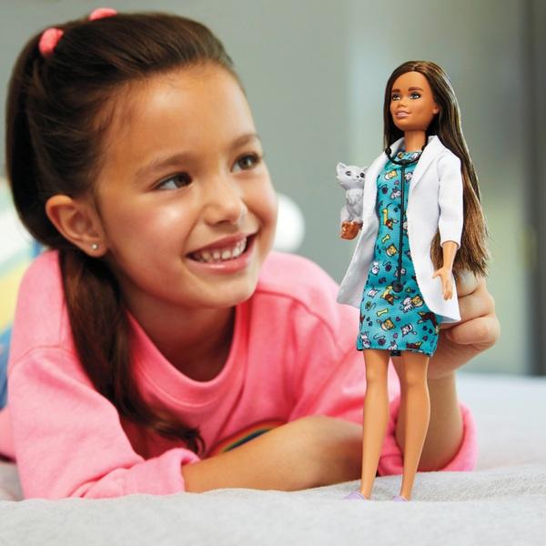 Careers Barbie Pet Vet Doll
