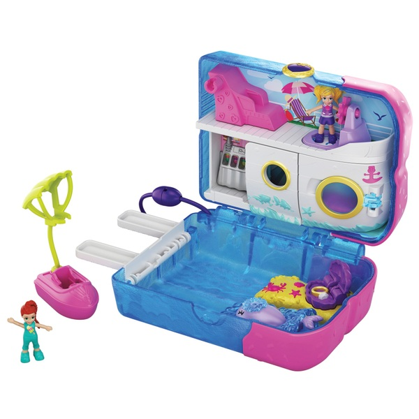 Polly Pocket Cruise Ship Popsicle Playset