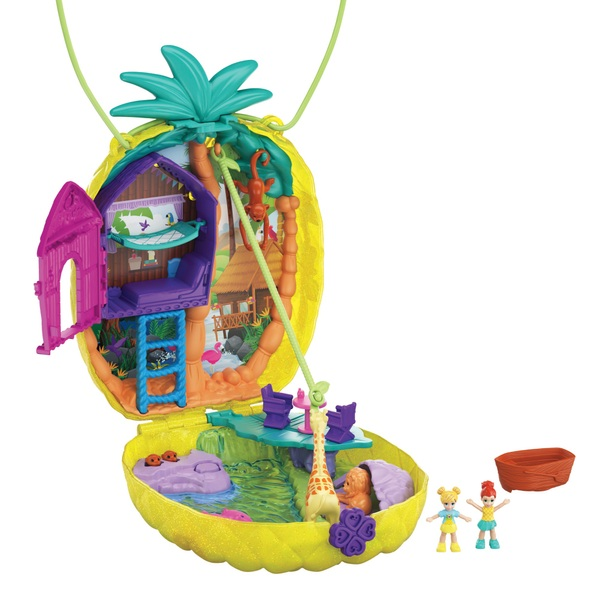 Polly Pocket Large Wearables Pineapple Safari