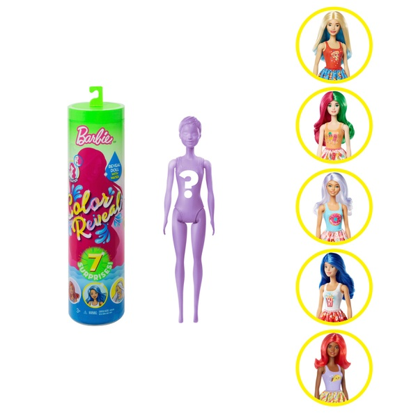 Barbie Colour Reveal Series 2 Foodie Doll Assortment