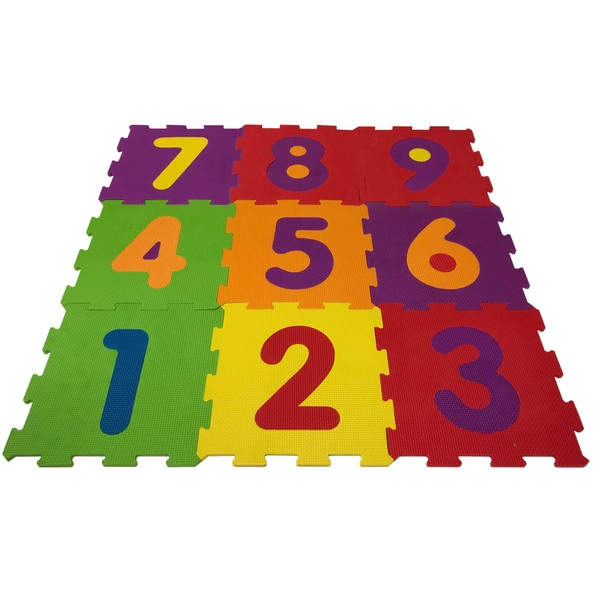 Big Steps Play Number Puzzle Play Mat