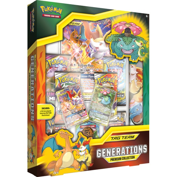 Pokémon Trading Card Game: Tag Team Generations Premium Collection