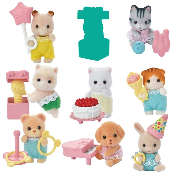 Sylvanian Families Baby Party Series 4 Assortment