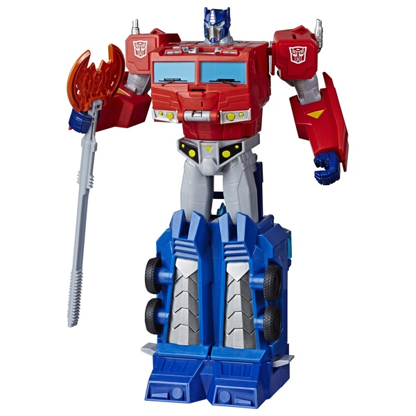 Optimus Prime Transformers Cyberverse Ultimate Class Action Figure