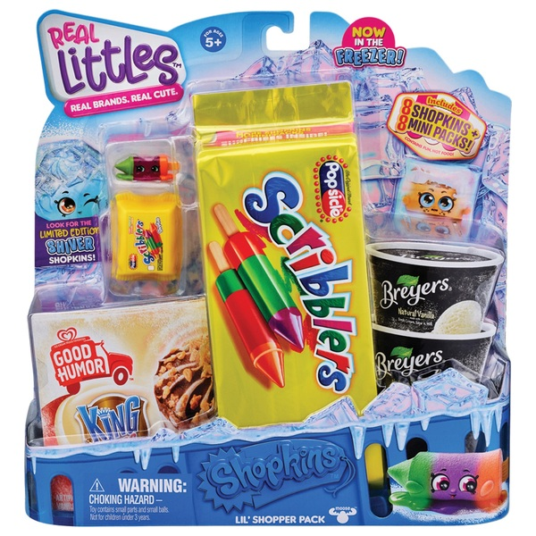 Real Cute Mini Pack Assortment NEW 2020 Shopkins Real Littles Real Brands