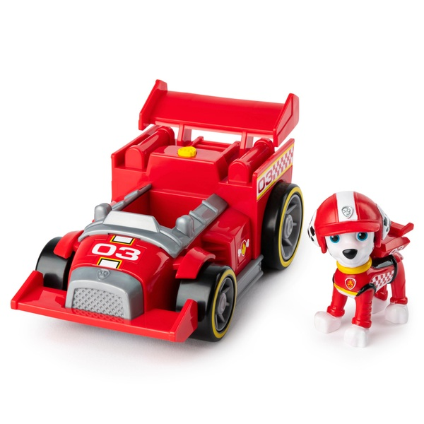 PAW Patrol Ready Race Rescue Marshall's Race and Go Deluxe Vehicle