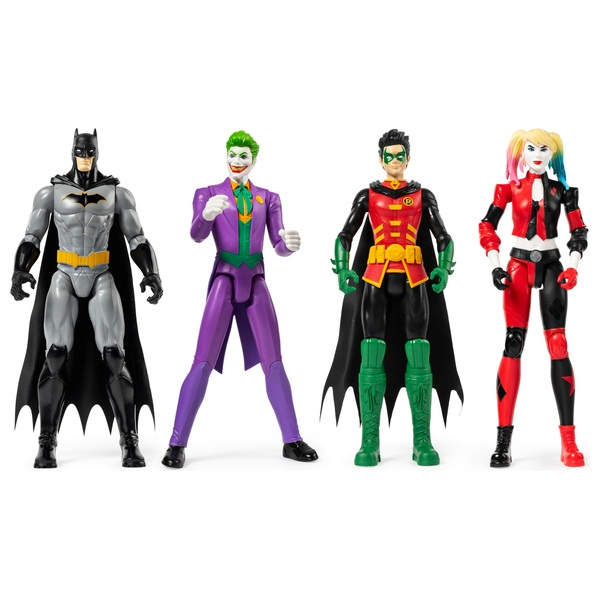 DC Batman 30cm Action Figure 4 Pack