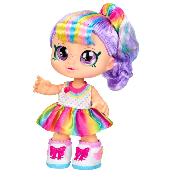 Kindi Kids Rainbow Kate Toddler Doll