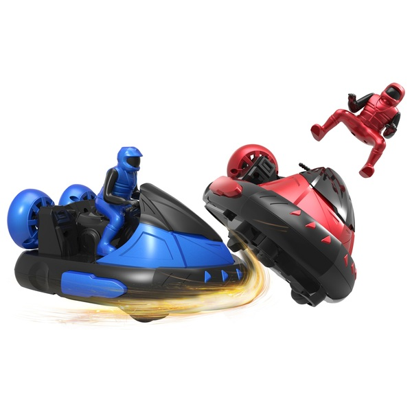 Remote Control Battle Bumper Cars with Drivers