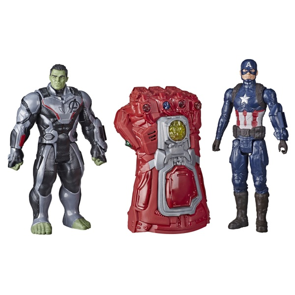 Marvel Avengers: Endgame Hulk and Captain America Electronic Gauntlet
