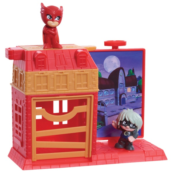 PJ Masks Nighttime Micros Trap and Escape Owlette and Luna