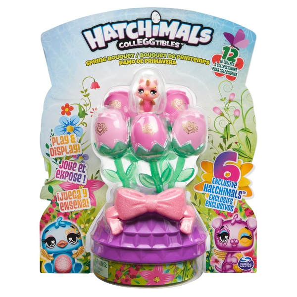 Hatchimals CollEGGtibles Spring Bouquet with 6 Exclusive CollEGGtibles