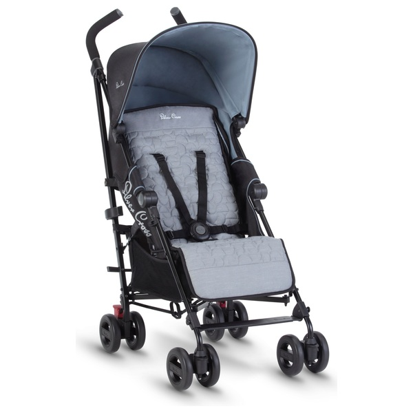 Silver Cross Zest Stroller Powder Blue
