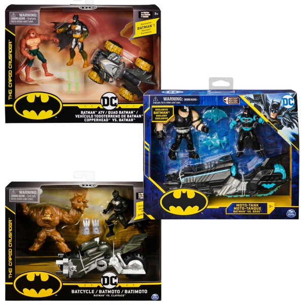 DC Batman Batcycle 10cm Vehicle