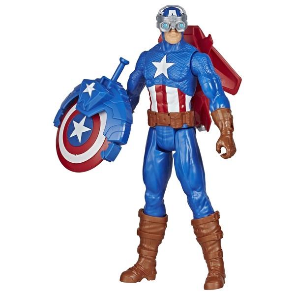 Captain America Avengers Titan Hero Blast Gear with Launcher