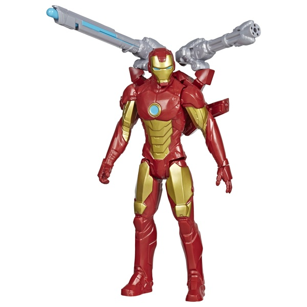 Marvel Avengers Iron Man Titan Hero Blast Gear with Launcher