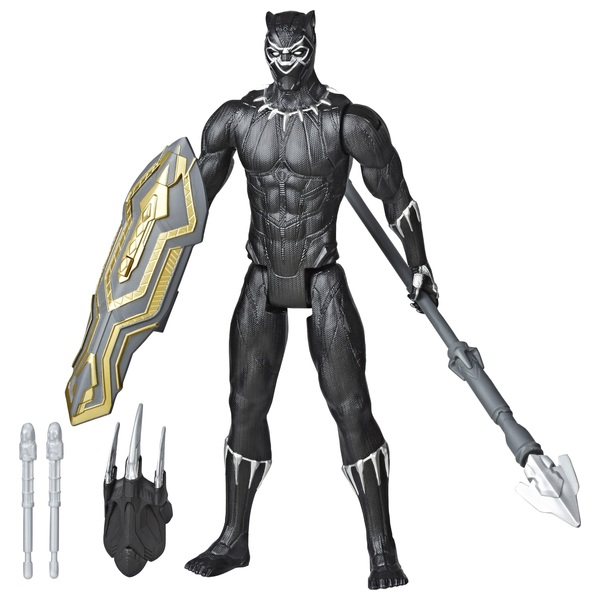 Marvel Avengers Black Panther Titan Hero Blast Gear with Launcher