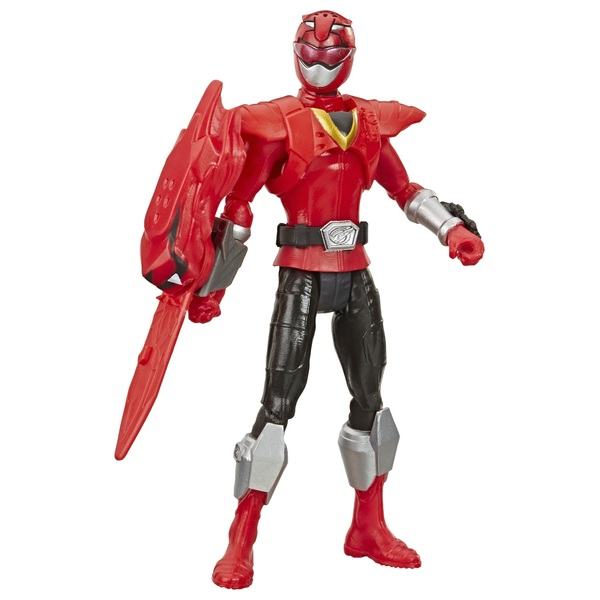 Power Rangers Beast Morphers Beast X Red Ranger 15 cm Action Figure