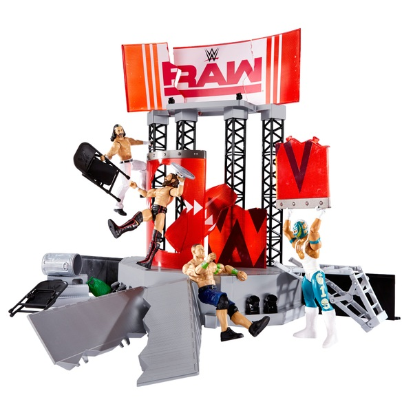 WWE Raw Wrekkin Entrance Stage Playset
